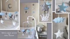 Deco chambre b b on pinterest 75 pins for Deco chambre bebe bleu turquoise