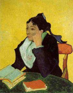 Gogh, Vincent van - L'Arlesienne -1889