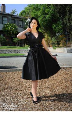 girl clothing, party dresses, parties, black shoes, blue shoes, pinup girl, birdi parti, pinup coutur, parti dress
