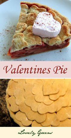 Valentine's Day Apple Pie by Tanya