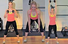 A 2-Move, 200-Calorie-Burning Workout in Just 5 Minutes (Pop Sugar Fitness) - this looks like quite a challenge!  I can't wait to try it!