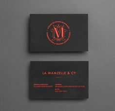Mamzelle & Co. business cards