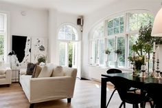 Amazing windows and doors! Stockholm Vitt - Interior Design