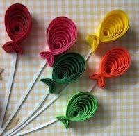 http://papercraftss.blogspot.com/search/label/animals card idea, paper craft, art الفنون, quill balloon, art pod, paper art, craft idea, quilling animals, kids