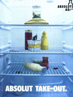 Absolut Vodka - Absolut Take-Out