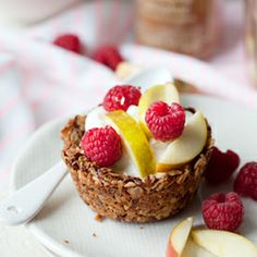 Spiced Breakfast Granola Cups
