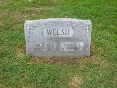 Genealogical Gems: Tombstone Tuesday: Michael & Daniel Welsh #genealogy #familyhistory