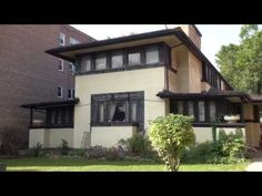 ▶ Frank Lloyd Wright In Chicago's Austin Area, the JJ Walsner Jr House - YouTube. A little known Wright design located in Chicago's Austin neighborhood.