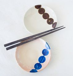 Vintage Japanese Pottery Sushi Appetizer by TheOtherLifeVintage