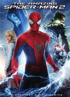 Spider-Man's conflict has been within himself: the struggle between Peter Parker and the responsibilities of Spider-Man. But Peter Parker, finds that his greatest battle is about to begin. Action/Sci-Fi, Rated PG-13, 141 min. http://highlandpark.bibliocommons.com/search?utf8=%E2%9C%93&t=smart&search_category=keyword&q=spider+man+foxx&commit=Search