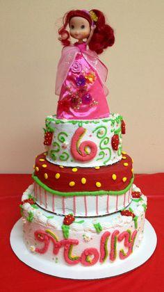 strawberry shortcake, shortcak cake, birthday cake, strawberri shortcak