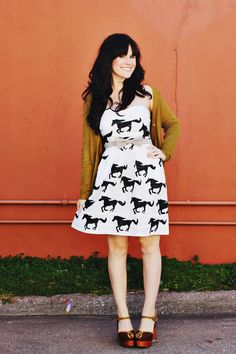 DIY: pony stamp dress