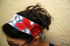 Scrap Happy Headbands from Rae Gun Ramblings
