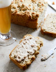 White Cheddar Beer Bread.