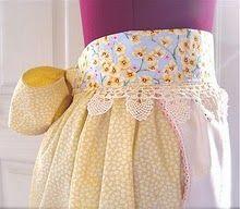 empti nest, sew, lace, coutur apron, slipcovers, couture, aprons, nests, belts