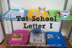 Tot School Printables Letter I is for Igloo from Wildflower Ramblings #totschool