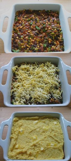 black bean tamale cake - one pot meal!  lots of ingredients, but seems easy