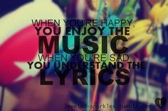 Music Quote   via Tumblr