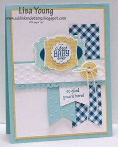 Add Ink and Stamp: Stampin' Up! Baby Label Love
