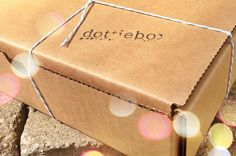 Dottie Box has the best packaging and sweetest handmade products.