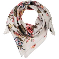 Joules Bloomfield Scarf - Silver Floral $53