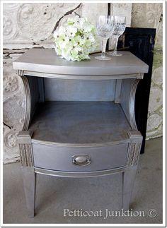 toner on silver furniture