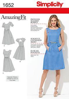 Simplicity Creative Group - Misses' & Miss Petite Amazing Fit Dresses