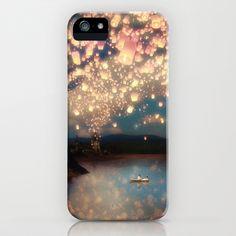 Love Wish Lanterns iPhone Case by Belle13 - $35.00