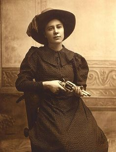 Rose Dunn was guilty only of liking the company of outlaws. She was real (some have doubted she existed), and she became known as Rose of Cimarron when she was but 15 years old. There is controversy regarding the role she played in the big battle between lawmen and outlaws in Ingalls, Oklahoma Territory, in 1895. The photo is definitely from the 1890s.