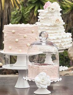 soft romantic cakes http://girlyinspiration.com/