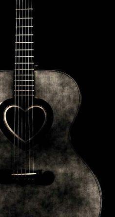 ♫♪ Music ♪♫ instrument black & white