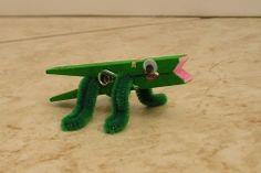 clothespin alligator croc
