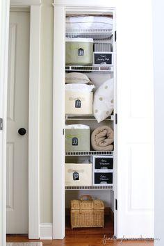 LinenClosetOrganizingPS thumb Tips for Organizing a Small Linen Closet