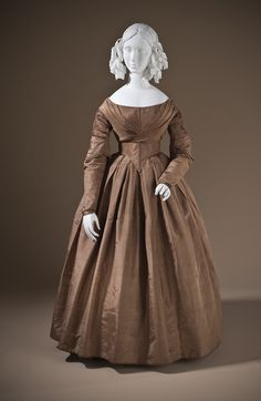 Day dress ca. 1845 From LACMA