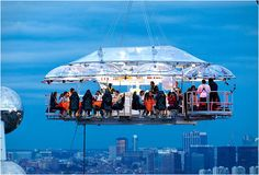 dinner in the sky, fanci place, dinners, travel, awesom, brussels, bucket lists