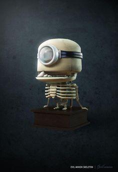 Evil Minion Skeleton - Evil Minion Skeleton - Gallery - Computer Graphics Forum
