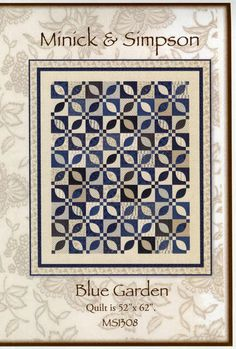 Blue Garden By Minick, Polly & Simpson, Laurie