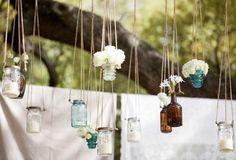 HUNTED : { Wedding Decor – Mason Jars } | theweddinghunter