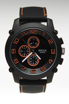 Breda Colton Watch Orange @ Jack Threads