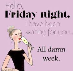 Friday + wine = happiness!