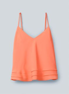 peach cami (would look great with blue jeans)