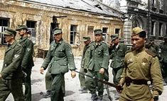 German POW's captured by the Red Army
