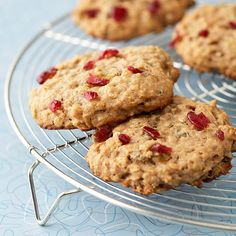 Our readers love these Banana-Oat Breakfast Cookies! They're totally filling and guilt free: http://www.bhg.com/recipes/healthy/breakfast/heart-healthy-breakfast-recipes/?socsrc=bhgpin020314bananaoatbreakfastcookie&page=18