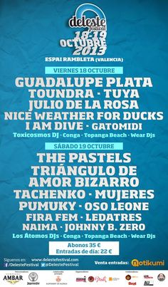 Deleste Festival 2013 en Valencia
