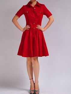 red feather, fall harvest, cotton sateen, 50s red, pocket short, jacquard cotton, trevor zandt
