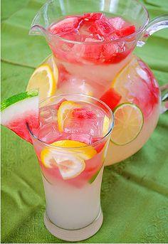 Watermelon Lemonade-- This was DELICIOUS!!