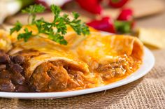 Slow Cooked Beef Enchiladas