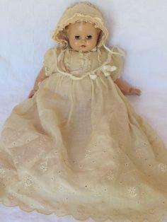 Vintage Madame Alexander Baby Doll Sleep Eyes w/ original dress