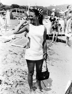 Natalie Wood - St Tropez, 1968
