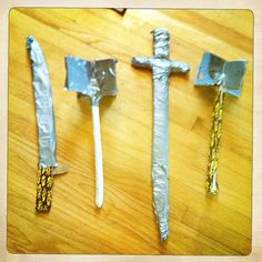 DIY duct tape weapons